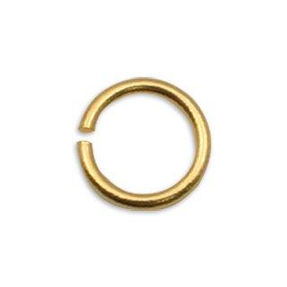 (500個)丸カン ゴールド【お一人様1セット限り】大量基礎金具【最安資材GET】