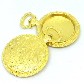 花蔦の懐中時計ミール皿(2個)レジン深皿