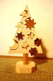 クリスマスツリー ホワイトクリスマス