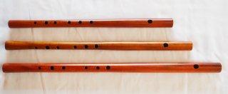 オリジナル横笛(木製) Original Wood Flute  LowD管