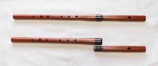 オリジナル横笛(木製)継ぎ管LowD管