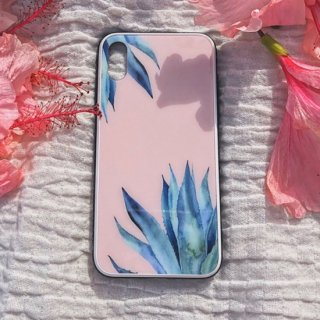 PINK ALOE iPhone Case