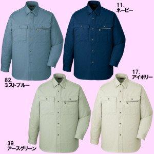 41604厚地長袖シャツ