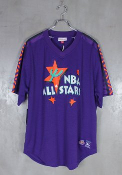 <img class='new_mark_img1' src='https://img.shop-pro.jp/img/new/icons20.gif' style='border:none;display:inline;margin:0px;padding:0px;width:auto;' />MITCHELL&NESS<br>ALL STAR MESH V NECK JERSEY<br>[新品]