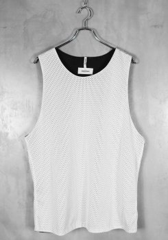 <img class='new_mark_img1' src='https://img.shop-pro.jp/img/new/icons20.gif' style='border:none;display:inline;margin:0px;padding:0px;width:auto;' />FOG ESSENTIALS<br>REVERSIBLE MESH TANK TOP<br>[中古A]