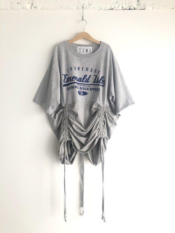 Remake browsing T-shirt  / リメイク ブラウジングTシャツ(gr)