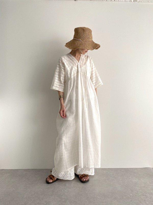 KICI -  Lace dress /  レース ワンピース (block)