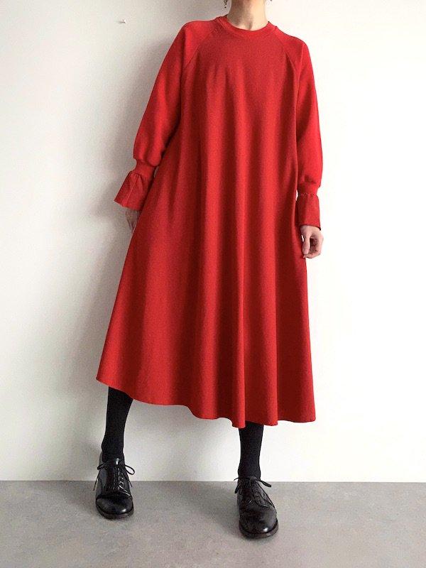 Remake circular dress  / リメイク サーキュラーワンピース(red)