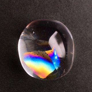 幸せの虹 アイリスクォーツA4 23.5×21×15.5mm