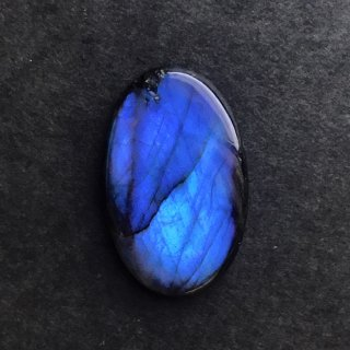 J1. 神秘的な青の閃光 ラブラドライト 34.5×22×4.5mm