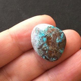 H3 《地球の物語》ジェムシリカ 20×17×4mm 高品質天然石ルース