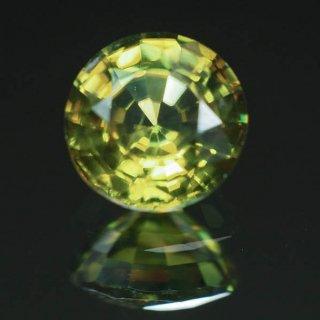 No14 パキスタン産 スフェーン 0.44ct 4.6x4.6x2.7mm