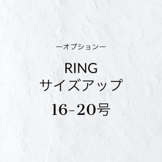 【オプション】望リング/16-20号へのサイズアップ