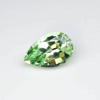 No2103 タンザニア/メレラニ鉱山 ミントガーネット1.555ct 9.10x5.89x4.29mm JGGLミニ鑑別