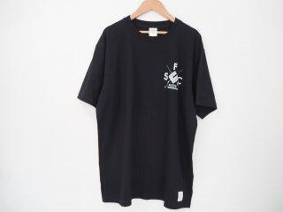 シーフロアコントロール ヘビーウエイトTシャツ Native Fish
