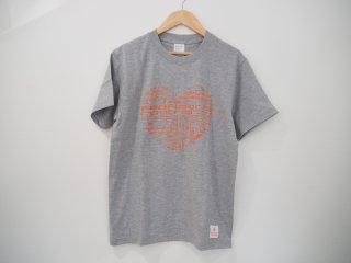 シーフロアコントロール ヘビーウエイトTシャツ Heart