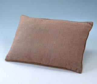 オーガニックコットン枕(キャメル混カバー付)