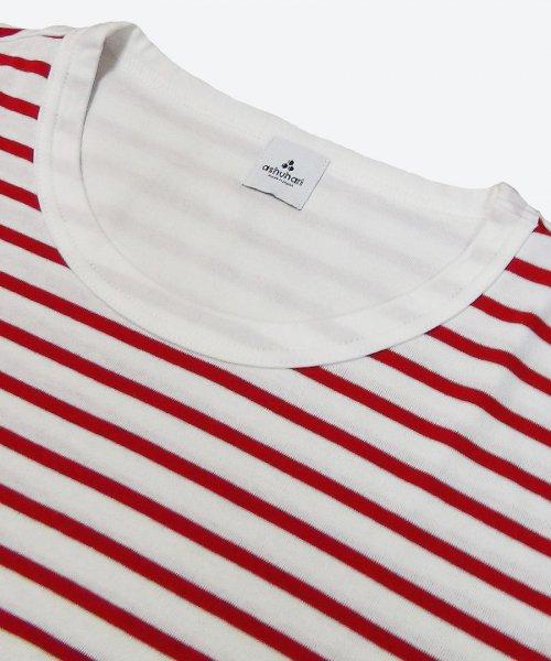 cotton stripe tee ( ashuhari )