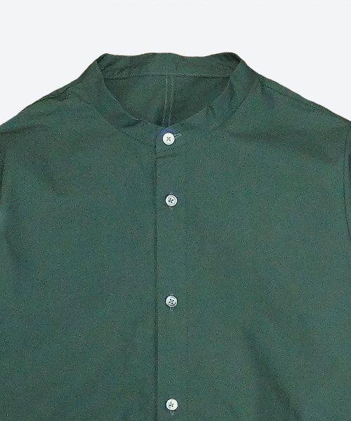 band collar shirt blouson ( ashuhari )