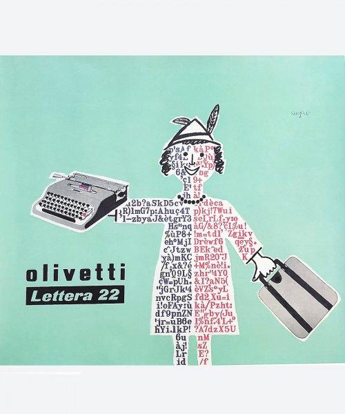 Olivetti / Lettera 22 ( reuse poster )