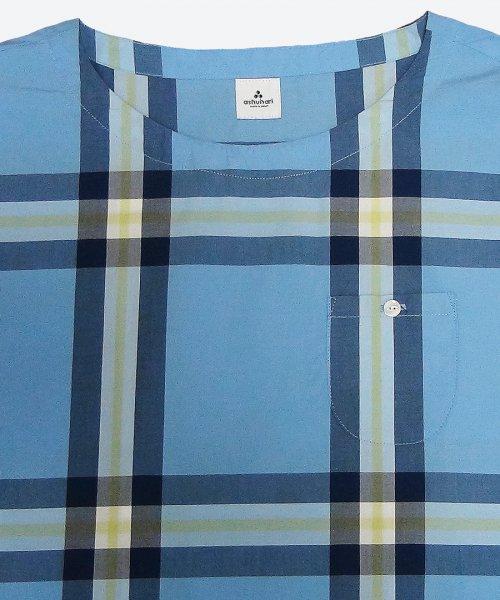 big check dolman shirt A ( ashuhari )