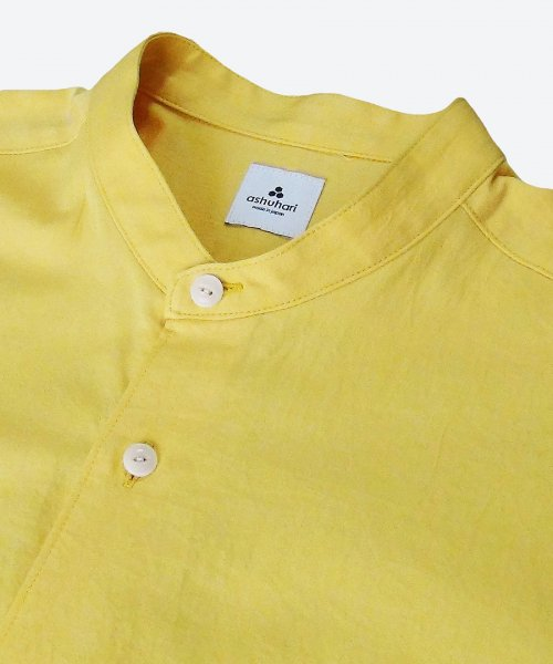 sunny dry washer band collar Aline shirt ( ashuhari )