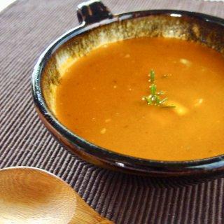 湯煎で5分♪レンズ豆のスープ