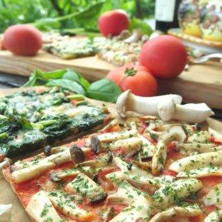 お歳暮&クリスマスギフトにも♪綾町有機野菜の天然酵母ピザセット<6枚>