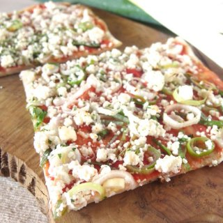 ギフト&お取り寄せにも♪有機野菜の手作り天然酵母ピザ<綾長ネギ>
