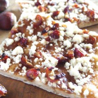 ギフトにも嬉しい自然食品♪ 白砂糖不使用天然酵母スイーツピザ<綾栗クリーム>