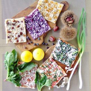 お歳暮&クリスマスギフトにも♪綾町産有機野菜&フルーツの天然酵母ピザセット<6枚>