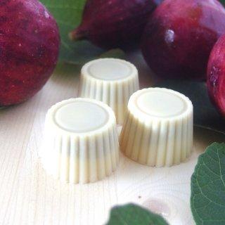 オーガニックホワイトチョコ100%使用ミニチョコ<綾イチジクジャム>(4個入り)