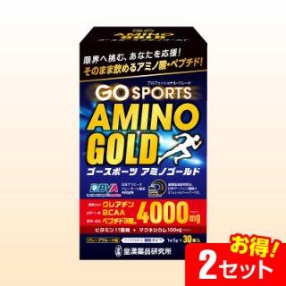 ゴースポーツアミノゴールド(30本)【2セット】