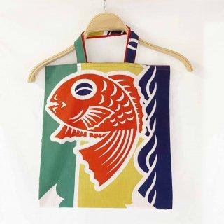 手拭い手提げ袋大漁旗鯛