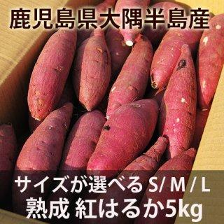 鹿児島の熟成 紅はるか5kg サイズが選べるS/M/L/2L 送料無料商品