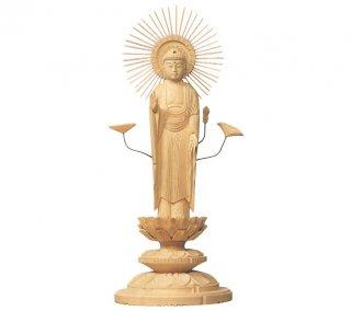 白木仏像(東弥陀)