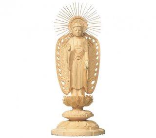 白木仏像(西弥陀)