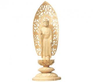 白木仏像(舟弥陀)