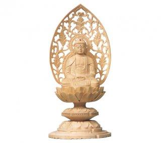 白木仏像(座釈迦)