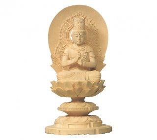 白木仏像(大日如来)