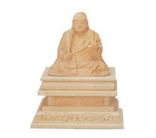 白木仏像(日蓮)