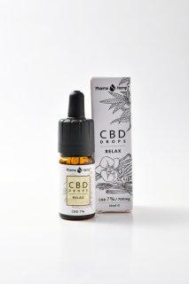 CBD7%フレーバーオイル RELAX シナモンバニラ味