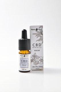 CBD7%フレーバーオイル FOCUSミントバニラ味