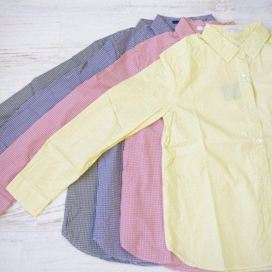 SHETH Ginghamcheck shirt - シス ギンガムチェックシャツ