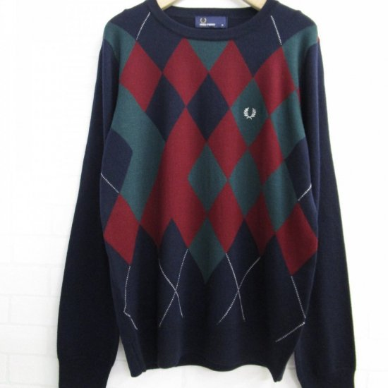 FRED PERRY - アーガイルニット