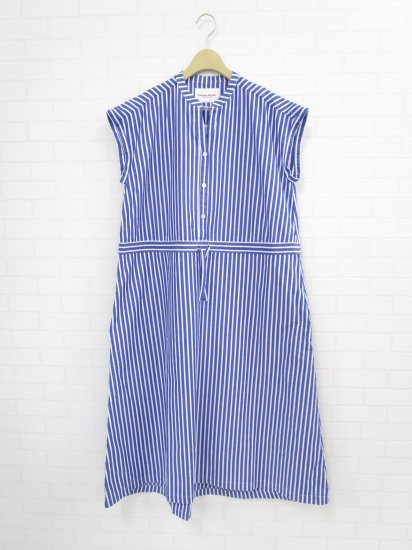 Vincent et Mireille - ストライプバンドドレス