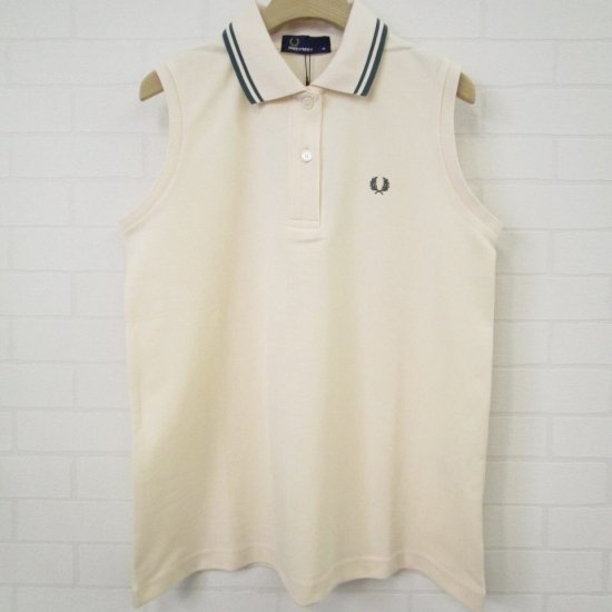 FRED PERRY - ノースリーブポロシャツ