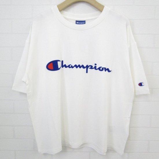 champion - ロゴTシャツ