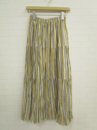 Rockmount - 9999 33 linen stripe long (beige)