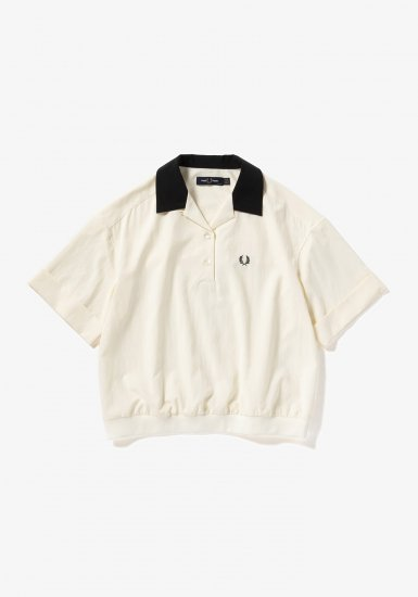FRED PERRY - リブカラー シャツ